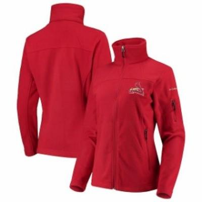 Columbia コロンビア アウターウェア ジャケット/アウター Columbia St. Louis Cardinals Womens Red Give & Go Fu