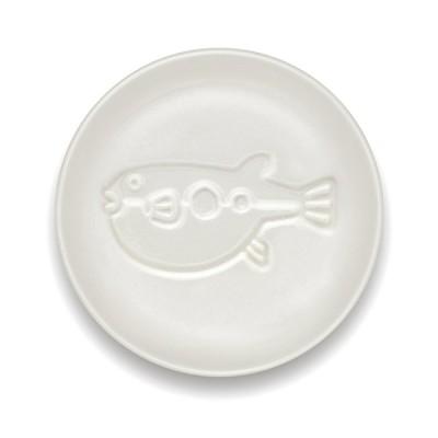 海鮮醤油皿 ふぐ/3個入/プロ用/新品