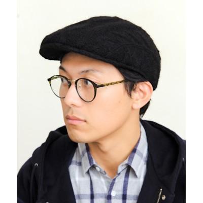 14+(ICHIYON PLUS) / ケーブルハンチング MEN 帽子 > ハンチング/ベレー帽