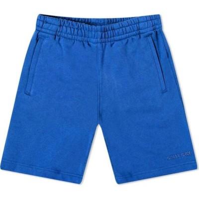 アディダス Adidas メンズ ショートパンツ ボトムス・パンツ x pharrell williams basics short Power Blue