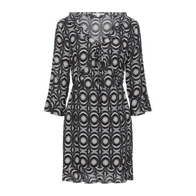 KORALLINE ミニワンピース&ドレス ブルー 46 レーヨン 100% ミニワンピース&ドレス