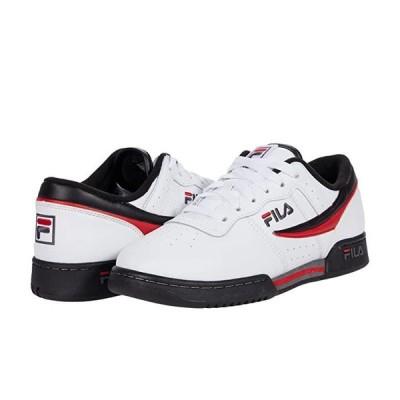 フィラ Original Fitness メンズ スニーカー 靴 シューズ White/Black/Fila Red