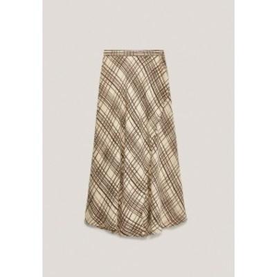 マッシモ ドゥッティ レディース スカート ボトムス A-line skirt - brown brown