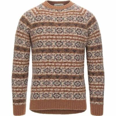 サン モリッツ S. MORITZ メンズ ニット・セーター トップス Sweater Beige