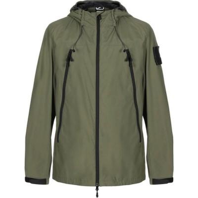 アウトヒア OUTHERE メンズ ジャケット アウター jacket Military green