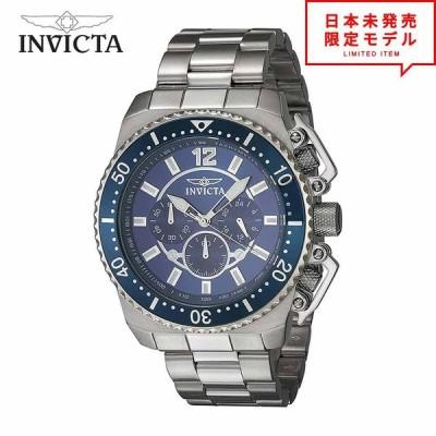 Invicta インヴィクタ メンズ 腕時計 リストウォッチ 21953 ブルー 海外限定 時計 日本未発売 当店1年保証 最安値挑戦中!