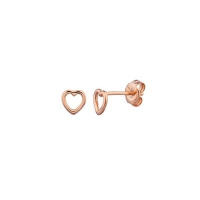 SHASHI シャシ Tiny Heart Stud ピアス ゴールド ローズゴールド シルバー 3色 18K