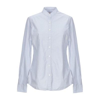 MOSCA シャツ ブルー S コットン 100% シャツ
