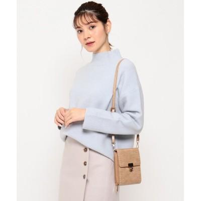 Couture brooch / ハイネックニットプルオーバー WOMEN トップス > ニット/セーター
