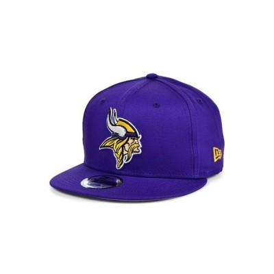 ニューエラ レディース 帽子 アクセサリー Minnesota Vikings Basic 9FIFTY Snapback Cap
