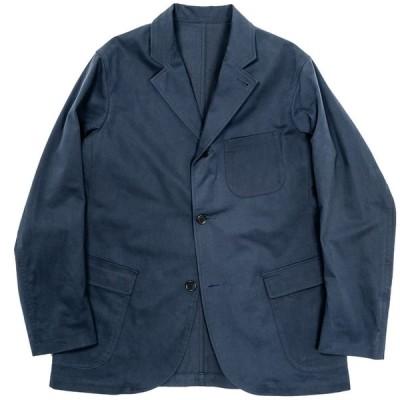 WORKERS ラウンジジャケット Lounge Jacket Brushed Chino Cloth, Navy