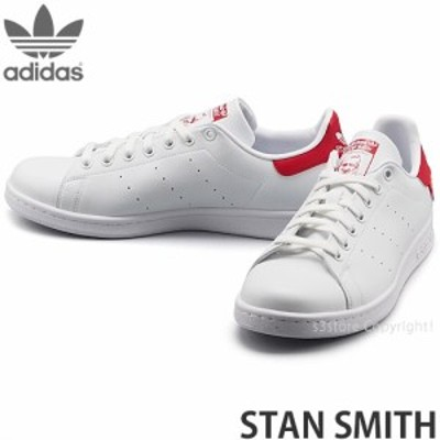 アディダス オリジナルス STAN SMITH カラー:フットウェアホワイト/スカーレット/コアブラック