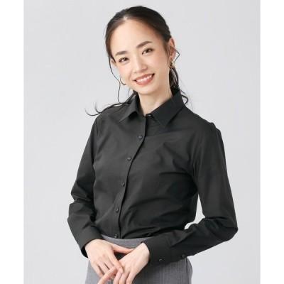 【Disney ディズニー】形態安定ノーアイロン レギュラー衿 長袖ビジネスワイシャツ