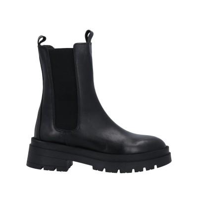 UNLACE ショートブーツ ブラック 40 牛革(カーフ) ショートブーツ