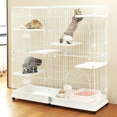 ジービー キャットサークル (猫用 サークル ゲージ) ホワイト・レギュラー 猫用ケージ・サークル