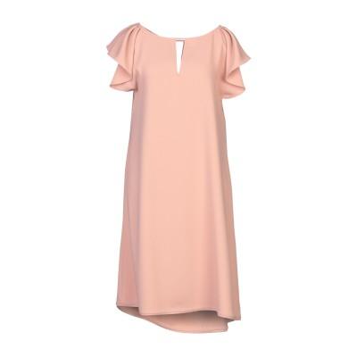 パロッシュ P.A.R.O.S.H. ミニワンピース&ドレス ローズピンク M ポリエステル 100% ミニワンピース&ドレス