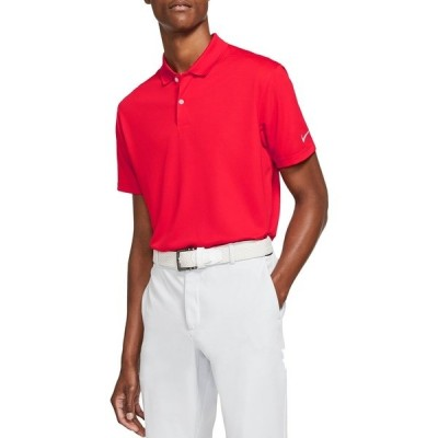 ナイキ シャツ トップス メンズ Nike Men's Victory Solid Golf Polo UniversityRed