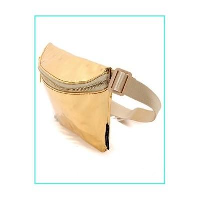 【新品】FYDELITY Fanny Pack Belt Bags Lux Ultra-Slim Luxury High Line -MIRROR Gold(並行輸入品)