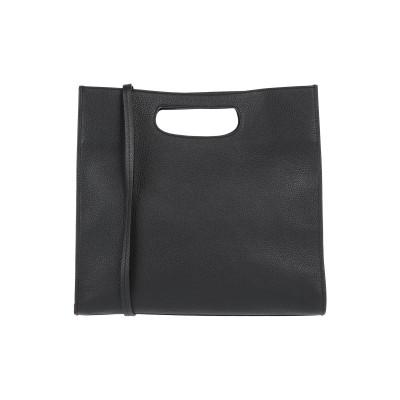 マルニ MARNI ハンドバッグ ブラック 牛革 95% / 真鍮/ブラス 5% ハンドバッグ