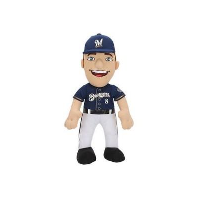 ベースボール USA 全米 アメリカ メジャー 野球 MLB ブリーチャークリーチャー Ryan Braun Milwaukee Brewers 14'' Player Plush Doll