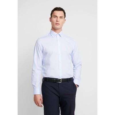 サイデンステッカー シャツ メンズ トップス BUTTON DOWN SLIM FIT - Formal shirt - light blue