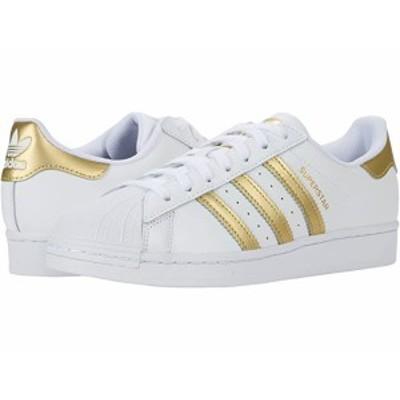 (取寄)アディダス オリジナルス レディース スーパースター W adidas Originals Women's Superstar W Footwear White/Gold Metallic/Foot