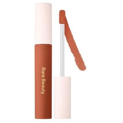 rare beauty セレーナゴメス Lip Souffle Matte Cream Lipstick Brave - muted terracotta