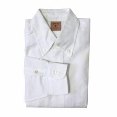 ARROW アロー 定番オックスフォードボタンダウンシャツ (白 鹿の子 長袖 アメリカ) 110681【中古】