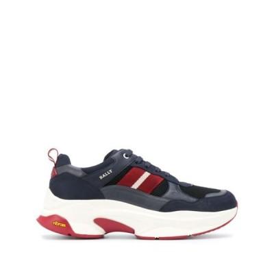 バリー スニーカー シューズ 靴 レディース Bally Varus striped panel chunky sneakers Blue
