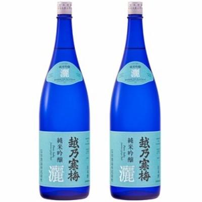 越乃寒梅 灑 純米吟醸 1.8L日本酒 2本 セット