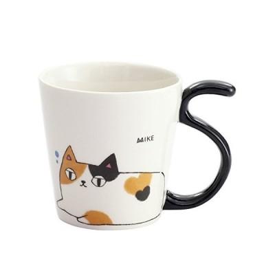 猫3兄弟 しっぽマグカップ mike 13009