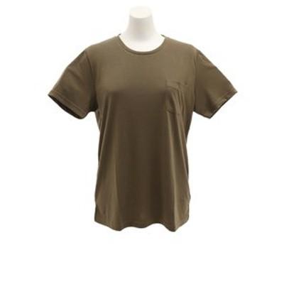 CHRISTIAN 24(CHRISTIAN 24)Tシャツ レディース 半袖 ポケット CH2WS9520 KHK オンライン価格