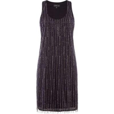 レーベルラボ Label Lab レディース パーティードレス ワンピース・ドレス Beaded Flapper Dress Plum