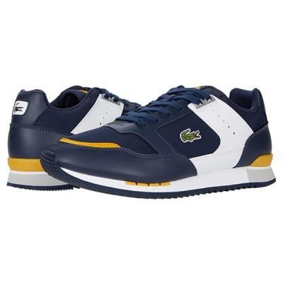 ラコステ Partner Piste 0120 1 メンズ スニーカー 靴 シューズ Navy/Yellow