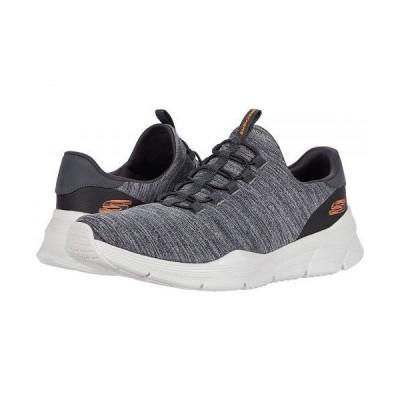 SKECHERS スケッチャーズ メンズ 男性用 シューズ 靴 スニーカー 運動靴 Equalizer 4.0 Voltis - Charcoal/Orange