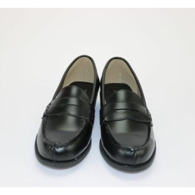 ☆ローファー 6000 カジュアル レディース ブラック 22.5~25cm 学校 通学靴 学生 黒(23.5)