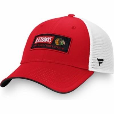 ファナティクス Fanatics メンズ キャップ 帽子 NHL Chicago Blackhawks Iconic Mesh Adjustable Hat