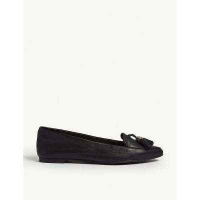 アルド ALDO レディース ローファー・オックスフォード シューズ・靴 Magona leather loafers Black leather