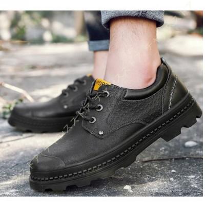 マーティンブーツ マーチンシューズ メンズ 革靴 ローカット ワークブーツ スニーカー 防水ブーツ 靴 ショートブーツ 厚底 防滑 ヴィンテージ ブーツ