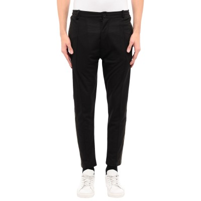 BLACK CIRCUS パンツ ブラック L コットン 97% / ポリウレタン 3% パンツ