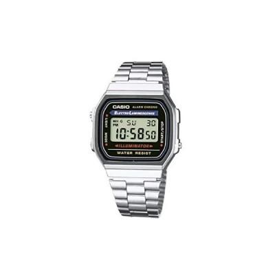 Casio A168WA-1 Mens Classic Digital Bracelet Watch