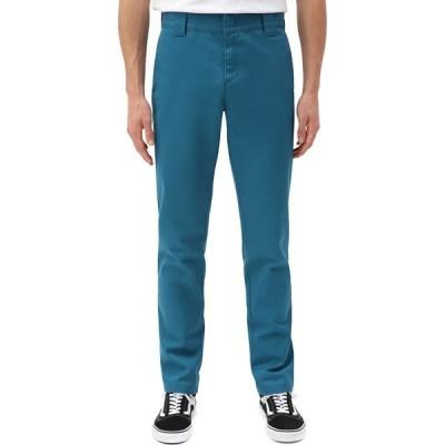 ディッキーズ Dickies メンズ チノパン ワークパンツ ボトムス・パンツ 872 Slim Fit Work Chino Pant Coral/Blue