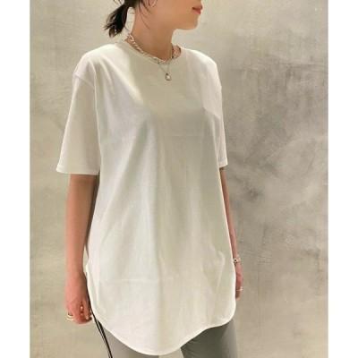 tシャツ Tシャツ ラウンド裾CS