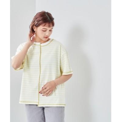 tシャツ Tシャツ ハイショクステッチ ボーダーTee