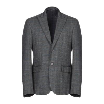 SIMON PEET テーラードジャケット グレー 50 ポリエステル 65% / レーヨン 32% / ポリウレタン® 3% テーラードジャケット