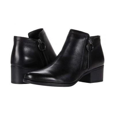 Naturalizer ナチュラライザー レディース 女性用 シューズ 靴 ブーツ アンクル ショートブーツ Denali - Black Leather