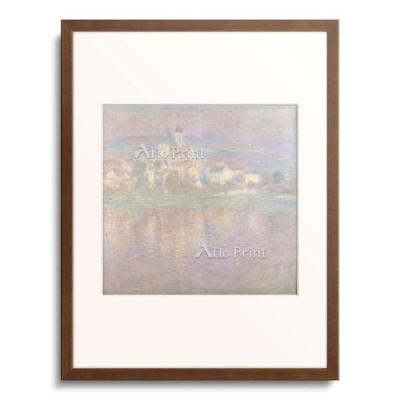 クロード・モネ Claude Monet 「Vetheuil bei Sonnenuntergang wahrscheinlich 1900」
