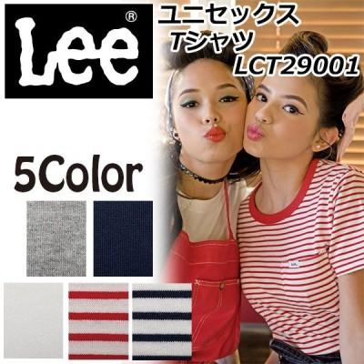 Lee Tシャツ 半袖 大きめサイズユニセックストップス XS S M L XL XXL LCT29001