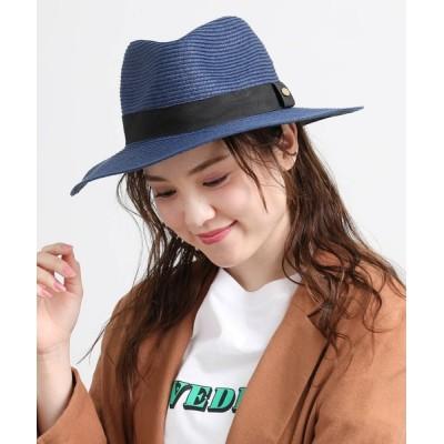 ViS / ツバ広中折れハット WOMEN 帽子 > ハット