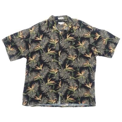 ピエールカルダン 半袖ボタンシャツ アロハシャツ サイズ表記:XL